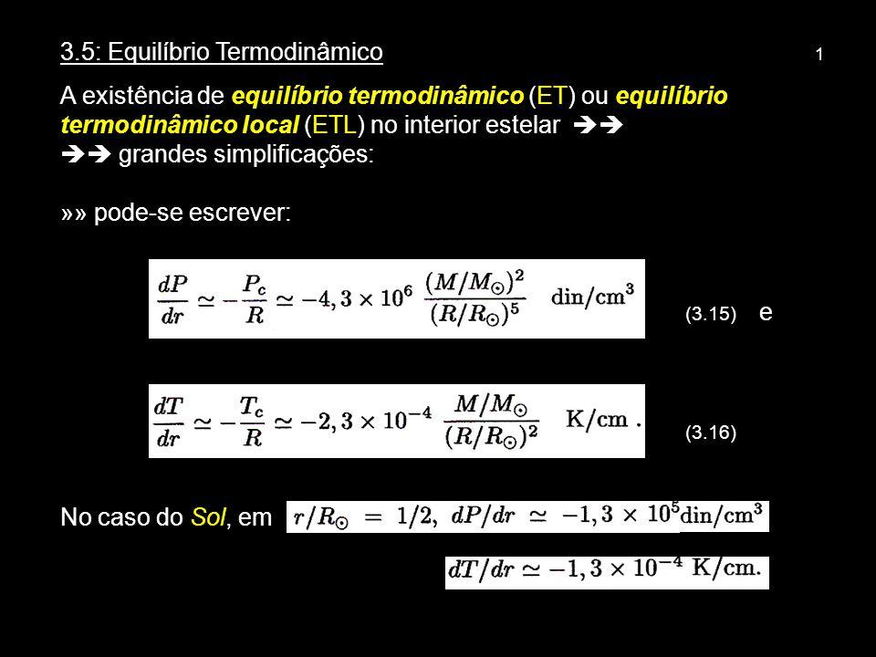 3.5: Equilíbrio Termodinâmico 1