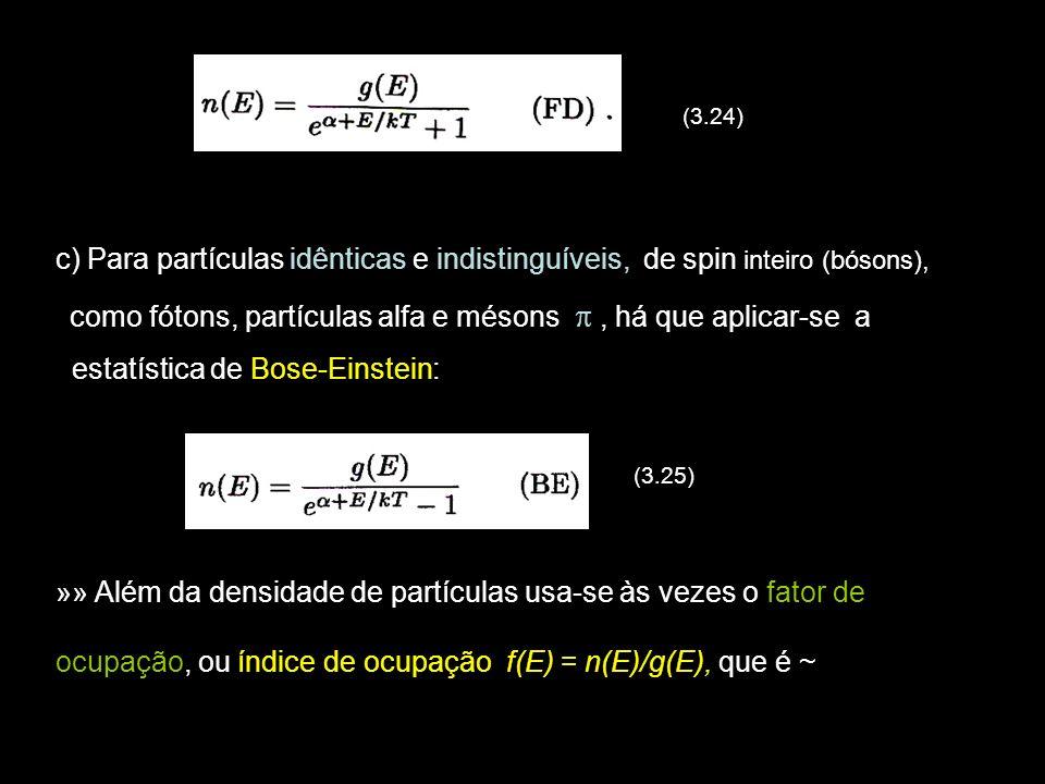 estatística de Bose-Einstein: