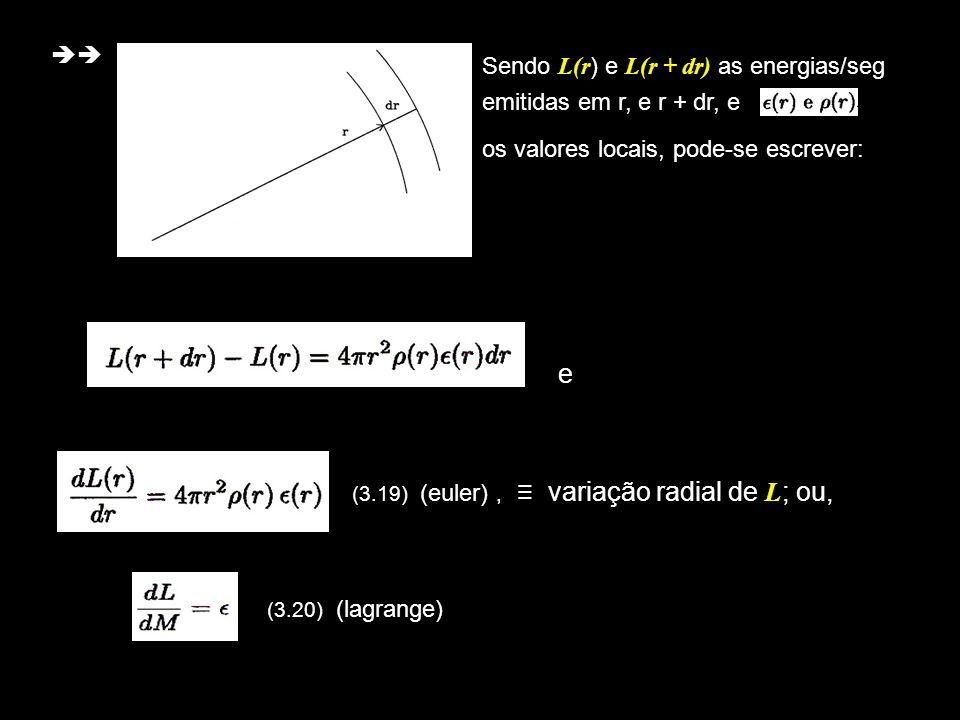 (3.19) (euler) , ≡ variação radial de L; ou,