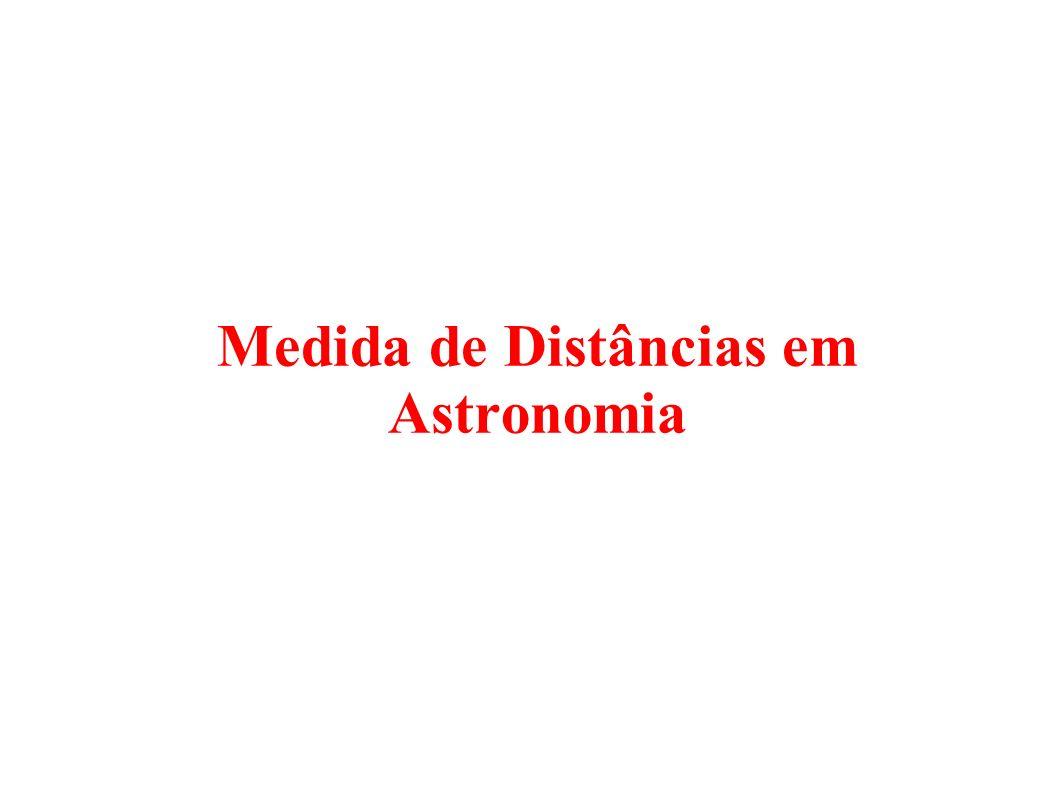 Medida de Distâncias em Astronomia