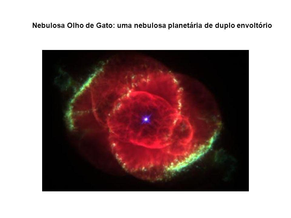 Nebulosa Olho de Gato: uma nebulosa planetária de duplo envoltório