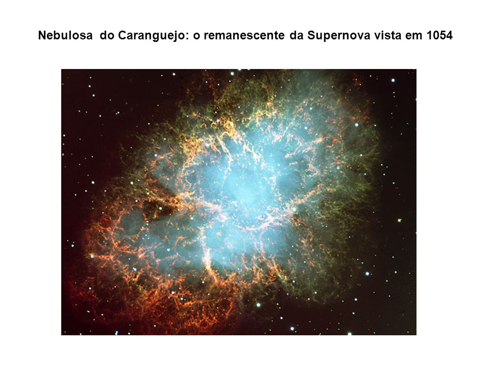 Nebulosa do Caranguejo: o remanescente da Supernova vista em 1054