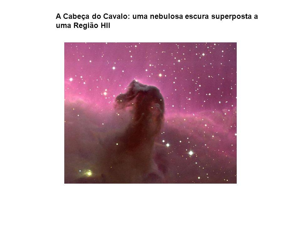 A Cabeça do Cavalo: uma nebulosa escura superposta a uma Região HII