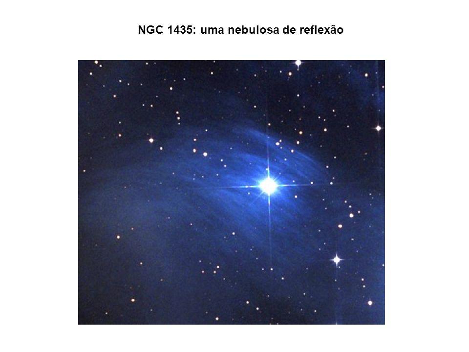NGC 1435: uma nebulosa de reflexão