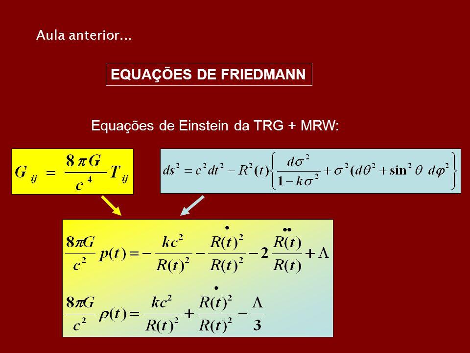 Equações de Einstein da TRG + MRW:
