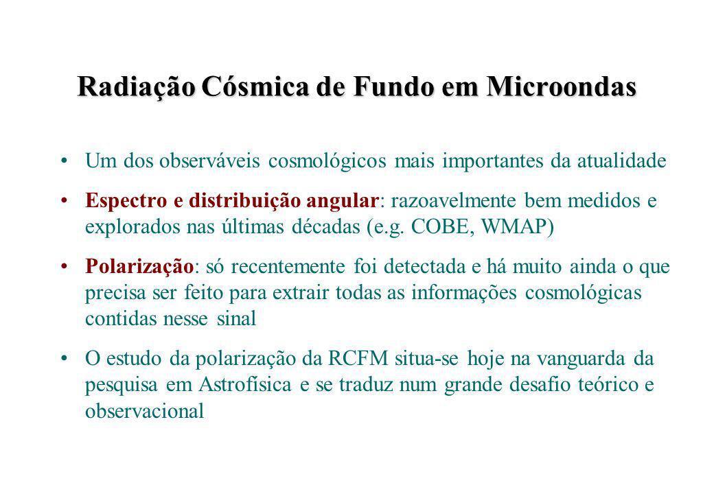 Radiação Cósmica de Fundo em Microondas