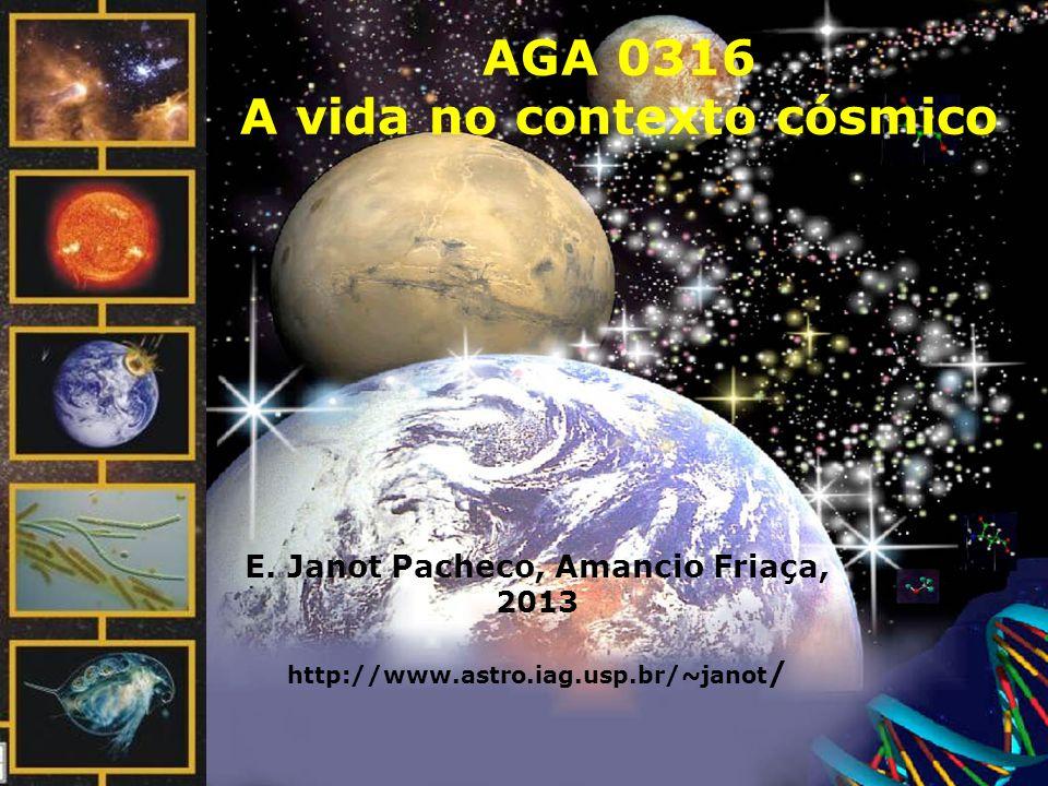 AGA 0316 A vida no contexto cósmico