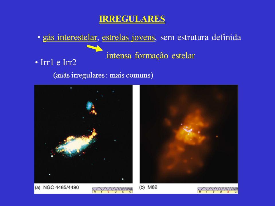 intensa formação estelar