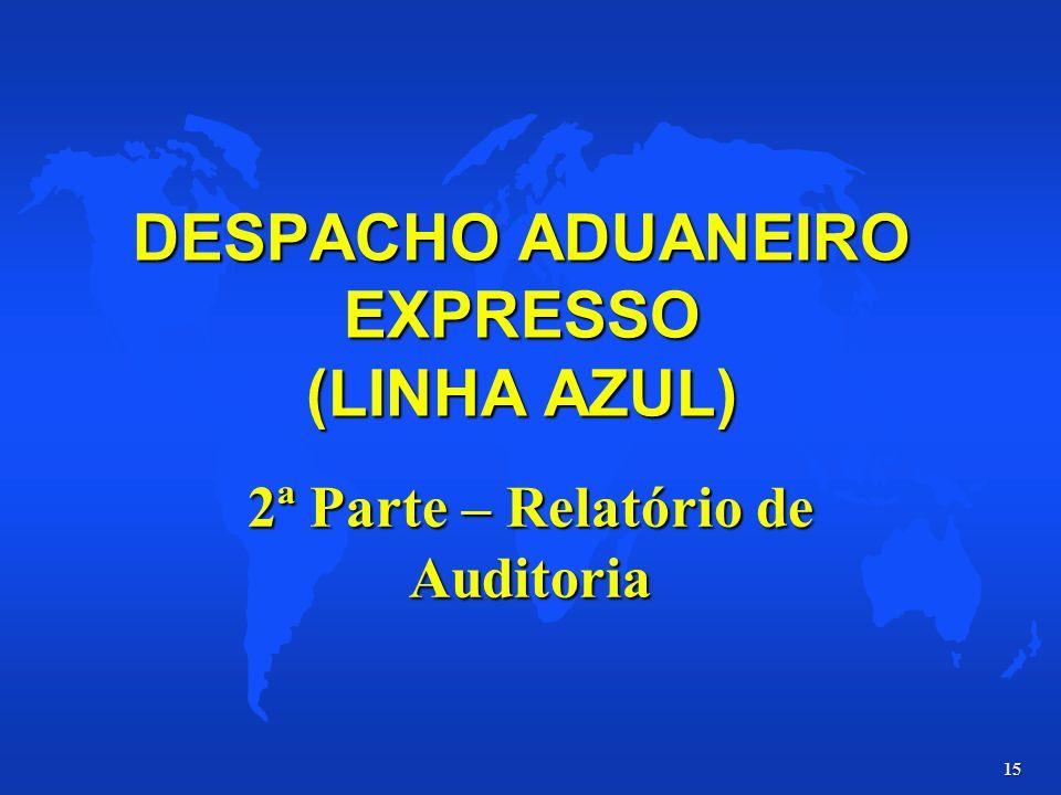 DESPACHO ADUANEIRO EXPRESSO (LINHA AZUL)