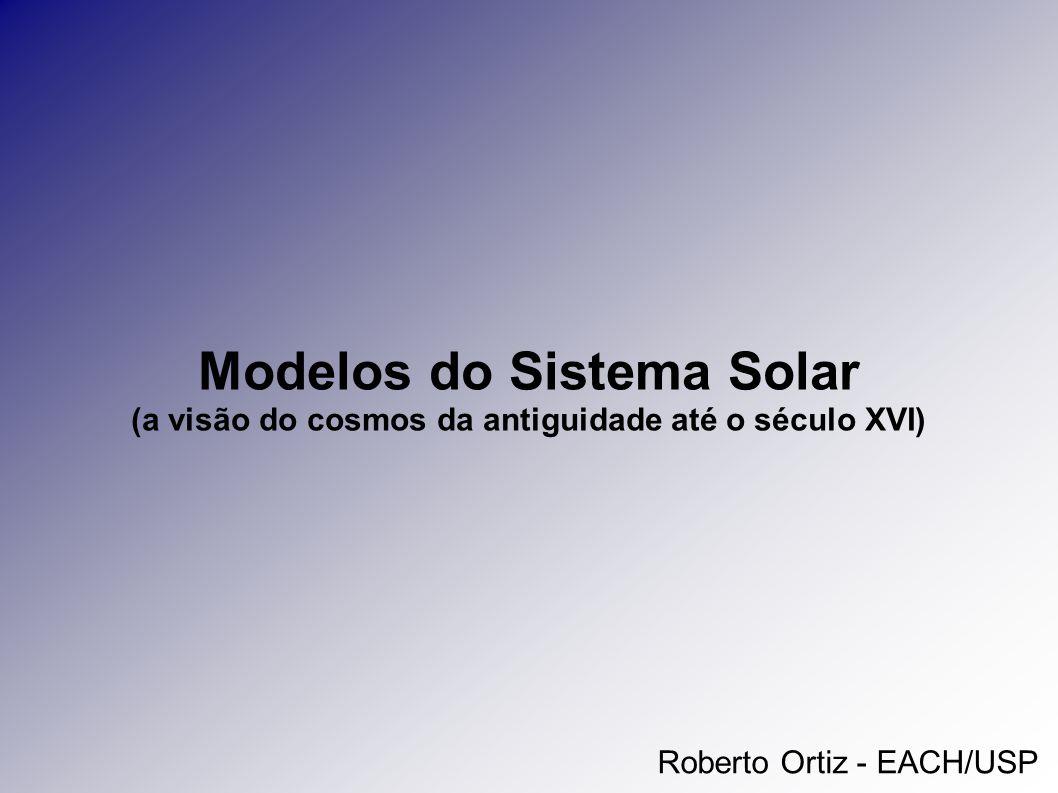Modelos do Sistema Solar