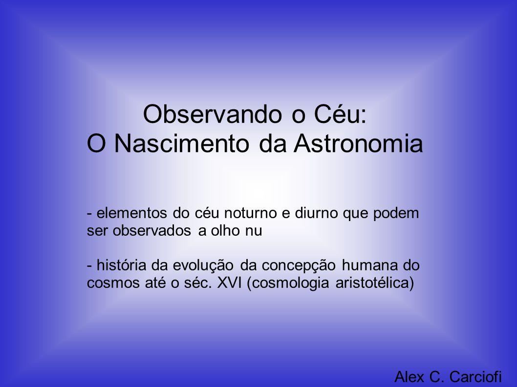 O Nascimento da Astronomia