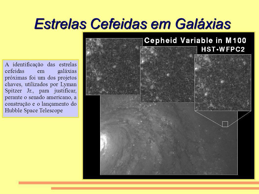 Estrelas Cefeidas em Galáxias