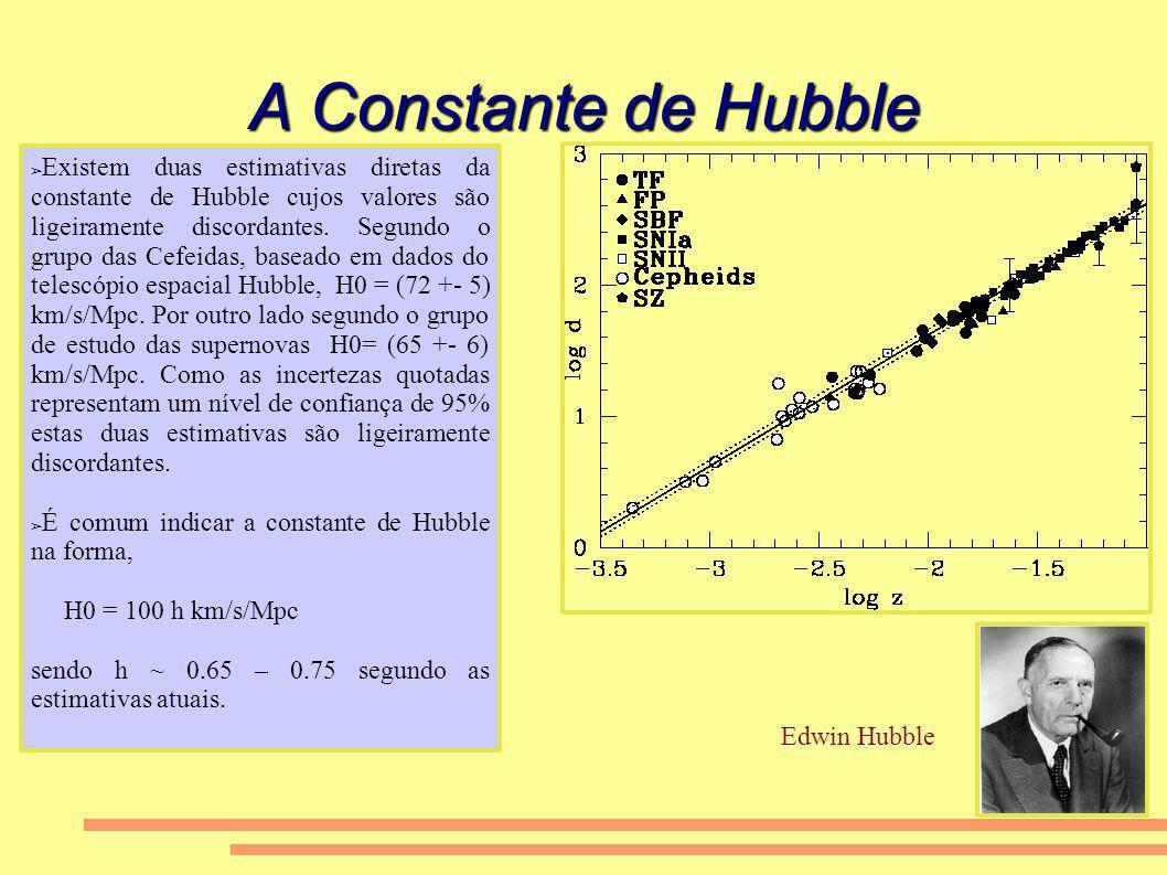 A Constante de Hubble