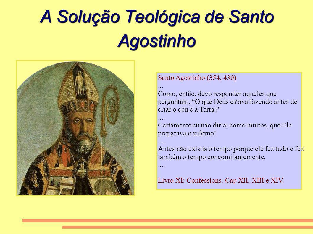A Solução Teológica de Santo Agostinho