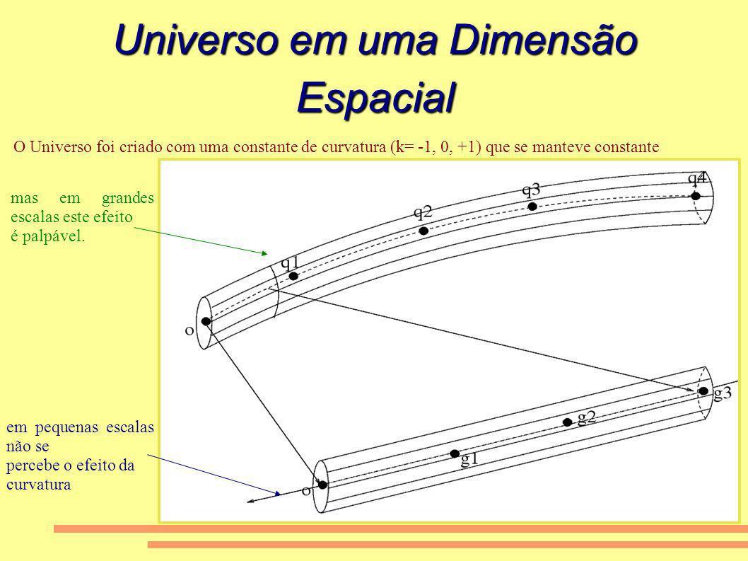Universo em uma Dimensão Espacial