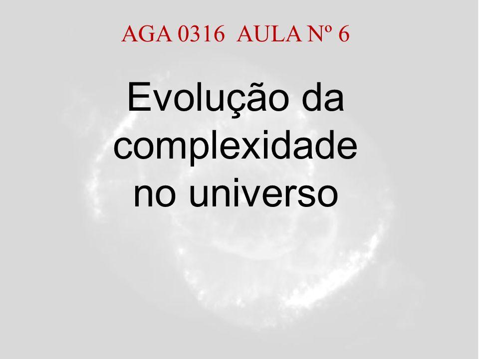 Evolução da complexidade no universo