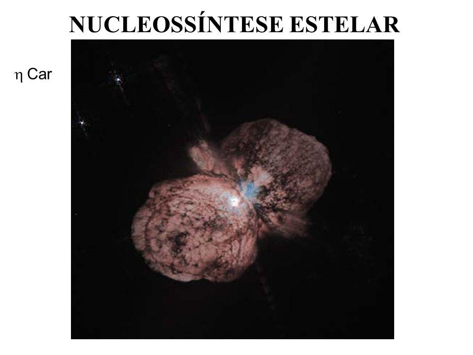 NUCLEOSSÍNTESE ESTELAR