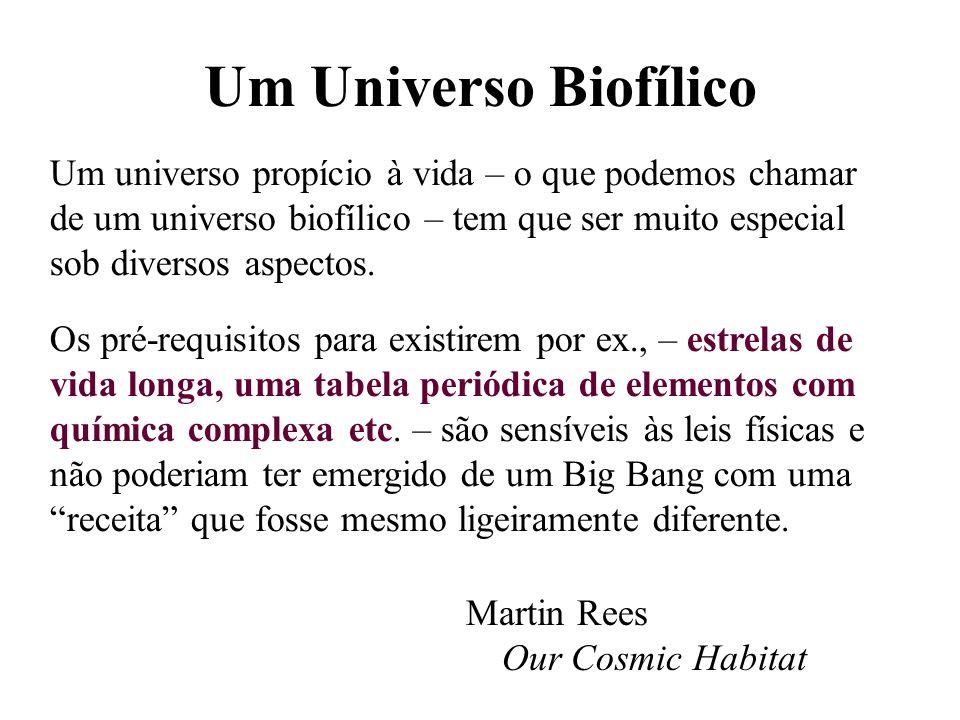 Um Universo Biofílico