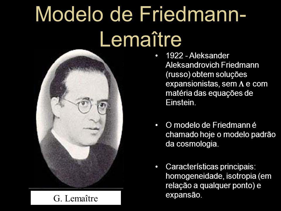 Modelo de Friedmann-Lemaître