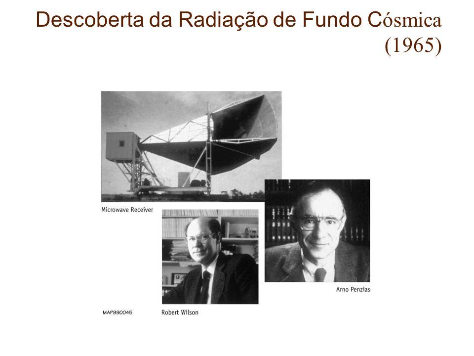Descoberta da Radiação de Fundo Cósmica (1965)