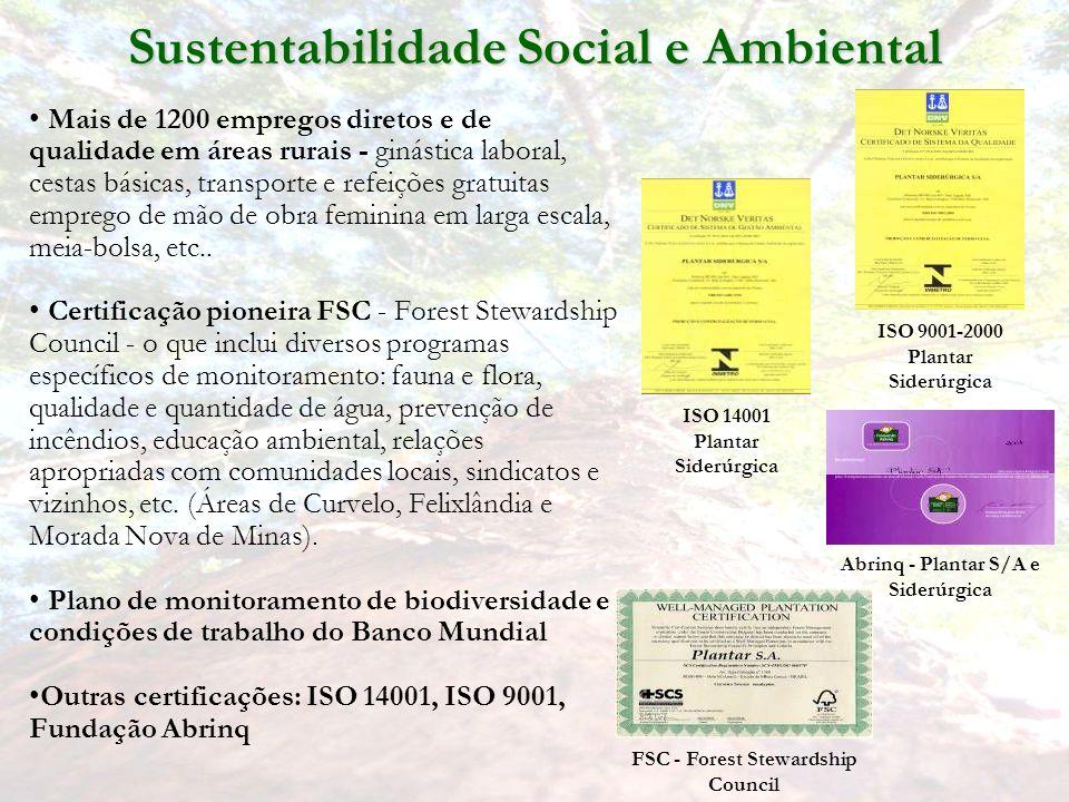 Sustentabilidade Social e Ambiental