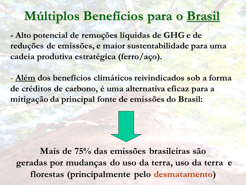 Múltiplos Benefícios para o Brasil