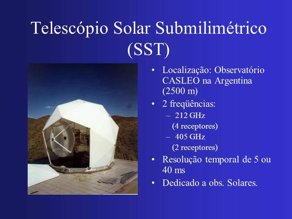 Telescópio Solar Submilimétrico (SST)