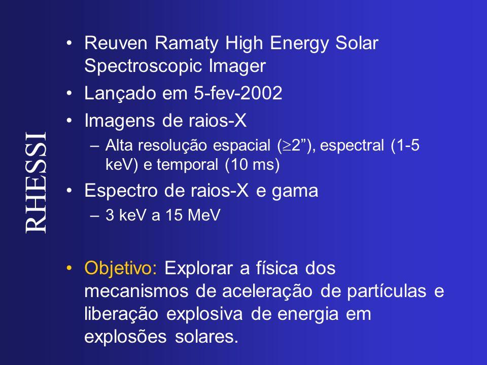 RHESSI Reuven Ramaty High Energy Solar Spectroscopic Imager