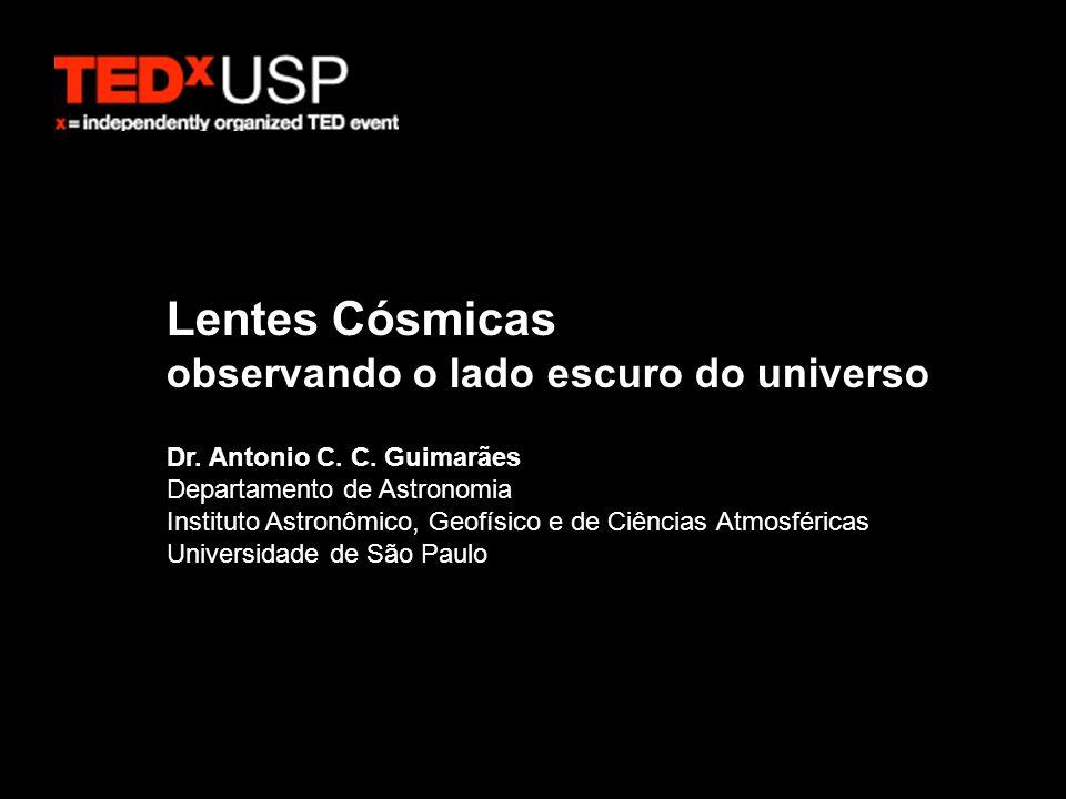 Lentes Cósmicas observando o lado escuro do universo