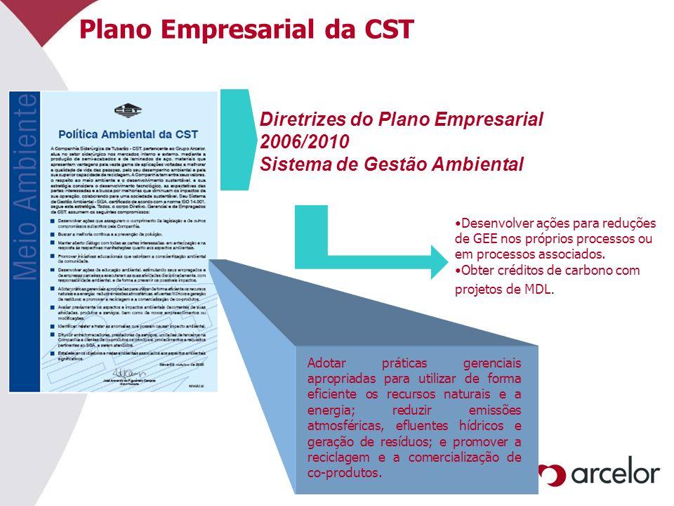 Plano Empresarial da CST