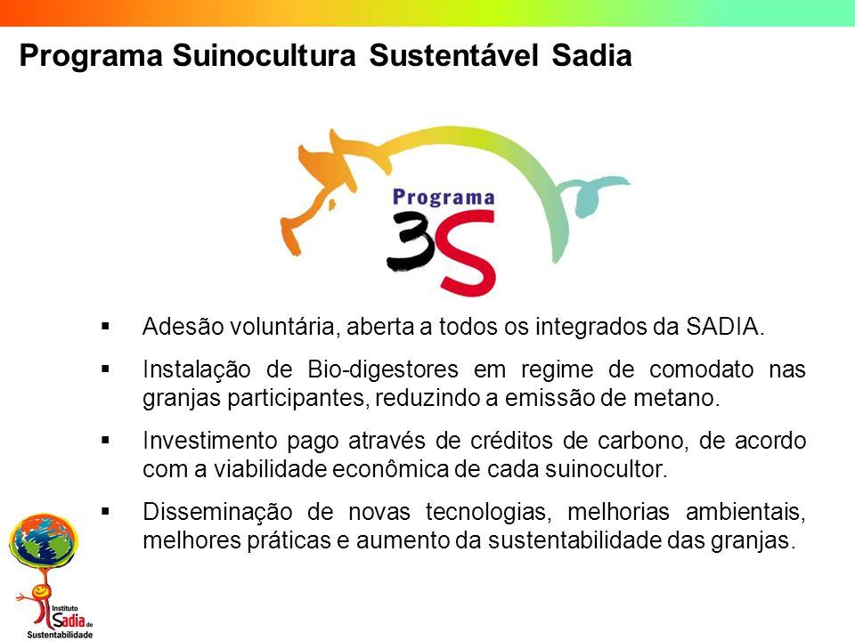 Programa Suinocultura Sustentável Sadia