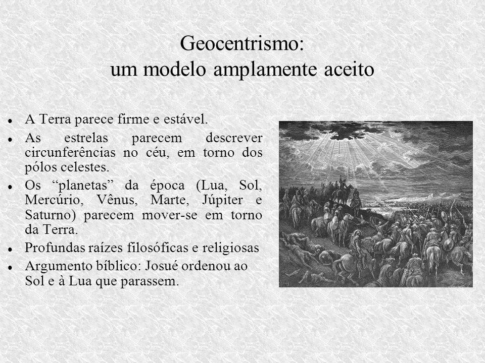 Geocentrismo: um modelo amplamente aceito