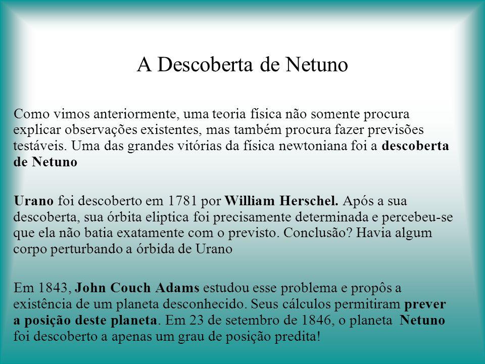 A Descoberta de Netuno