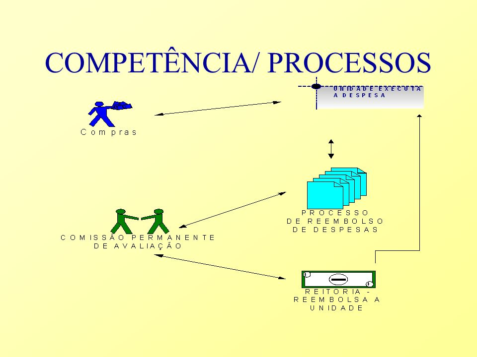 COMPETÊNCIA/ PROCESSOS