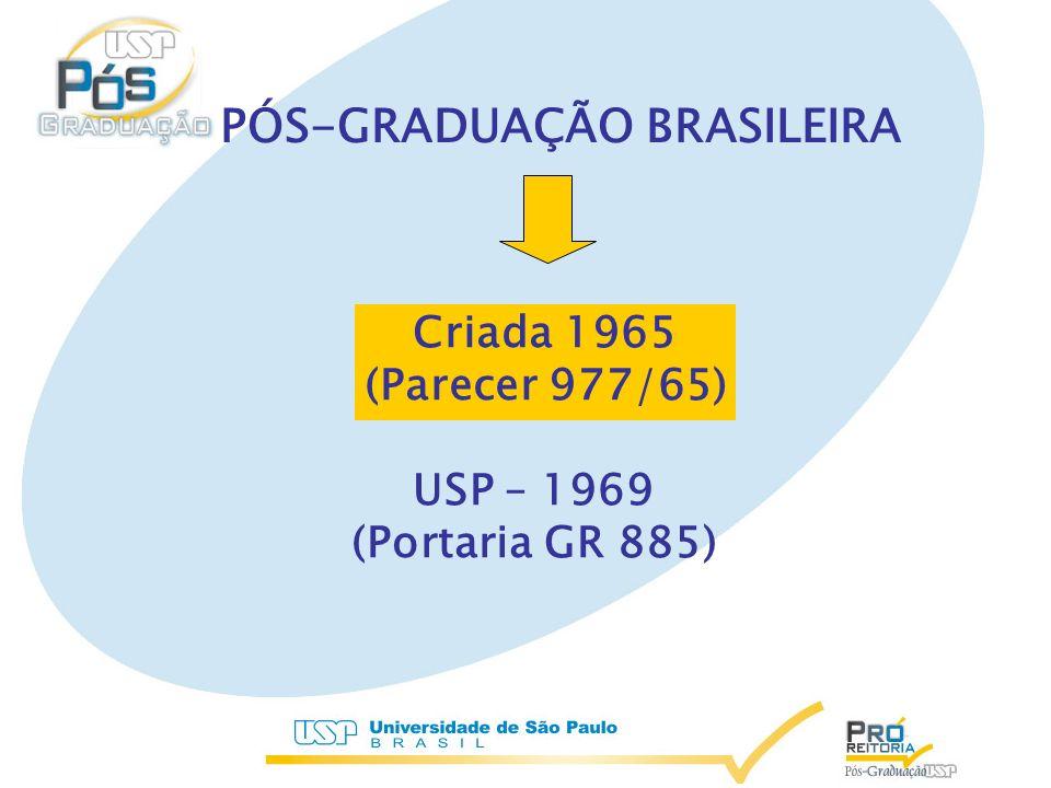 PÓS-GRADUAÇÃO BRASILEIRA