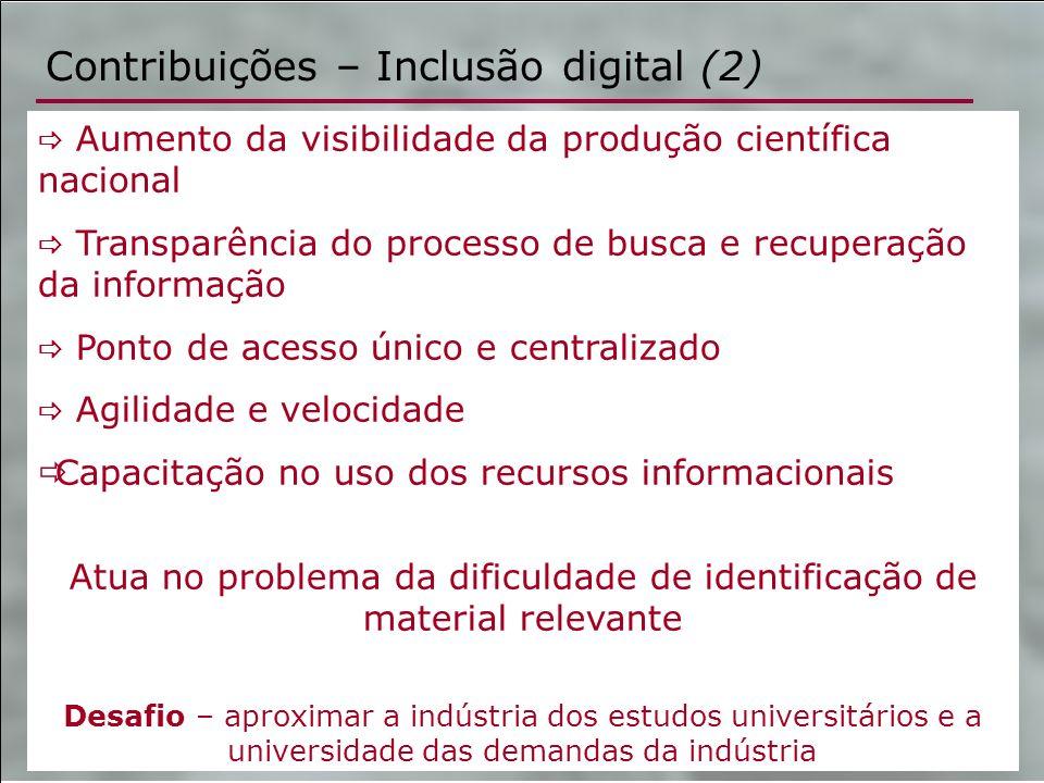 Contribuições – Inclusão digital (2)