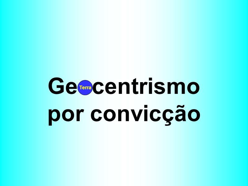 Geocentrismo por convicção