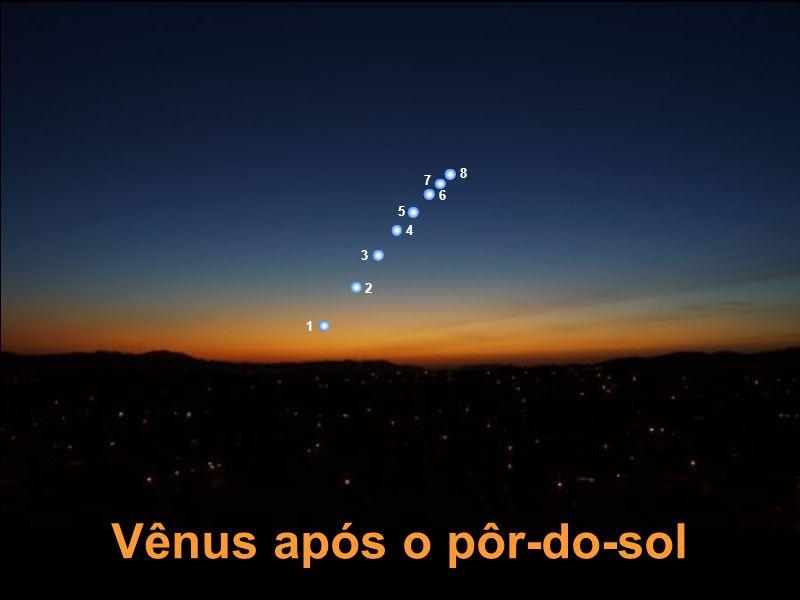 Vênus após o pôr-do-sol