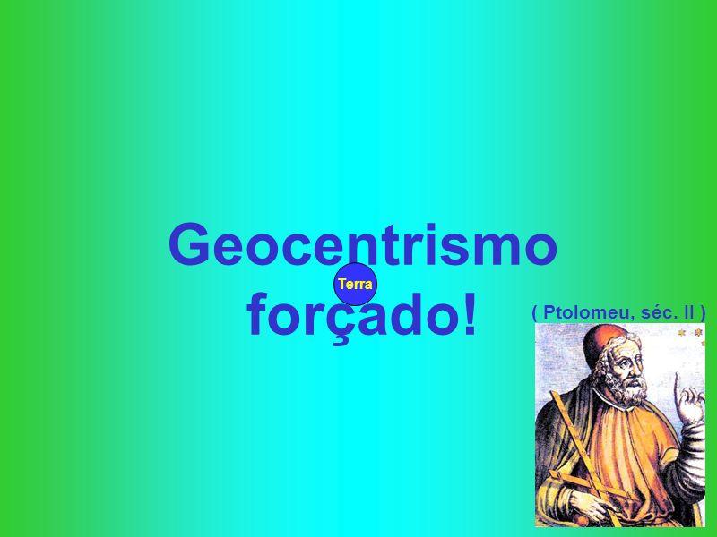 Geocentrismo forçado! Terra ( Ptolomeu, séc. II )
