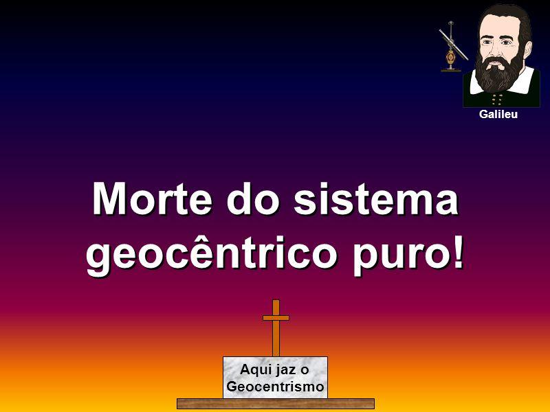 Morte do sistema geocêntrico puro!