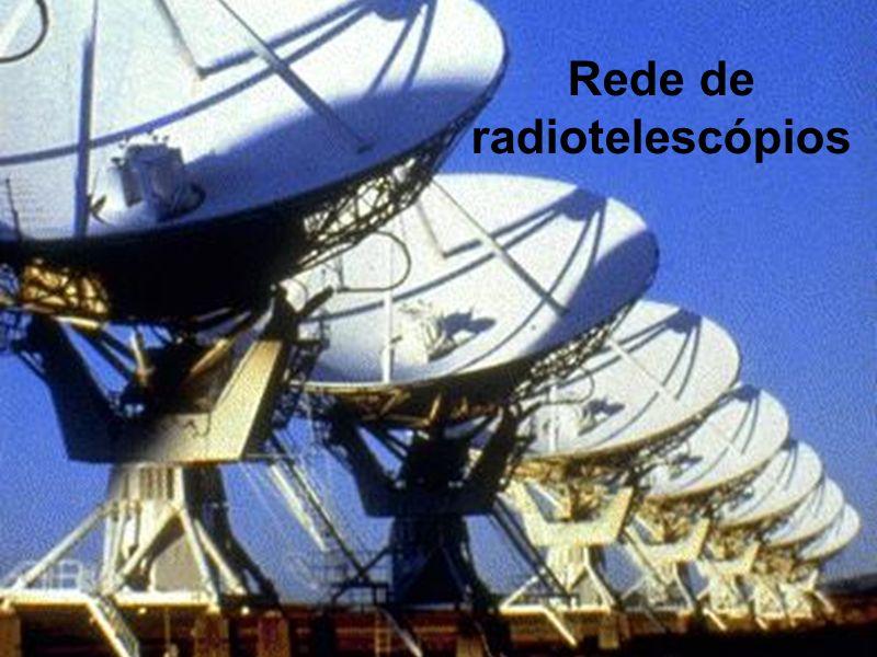 Rede de radiotelescópios