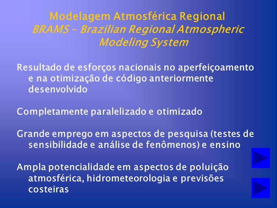 Modelagem Atmosférica Regional