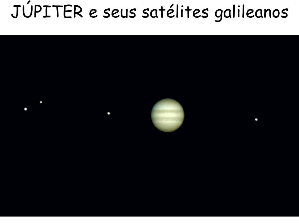 JÚPITER e seus satélites galileanos