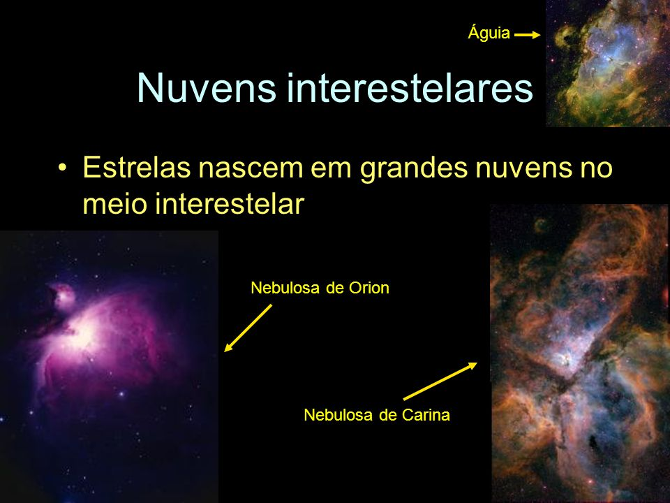 Nuvens interestelares