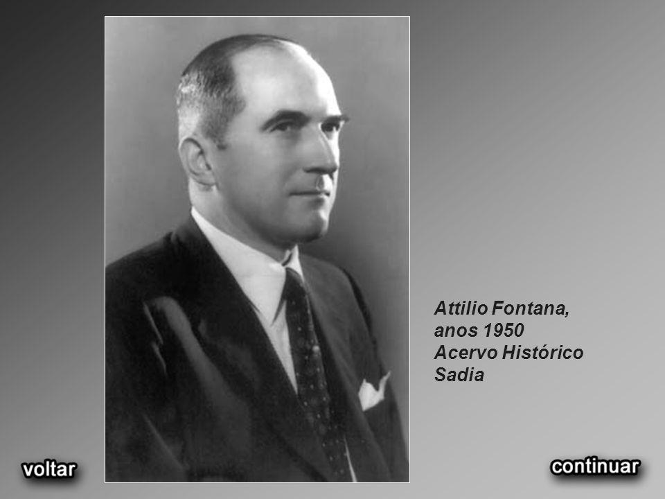 Attilio Fontana, anos 1950 Acervo Histórico Sadia