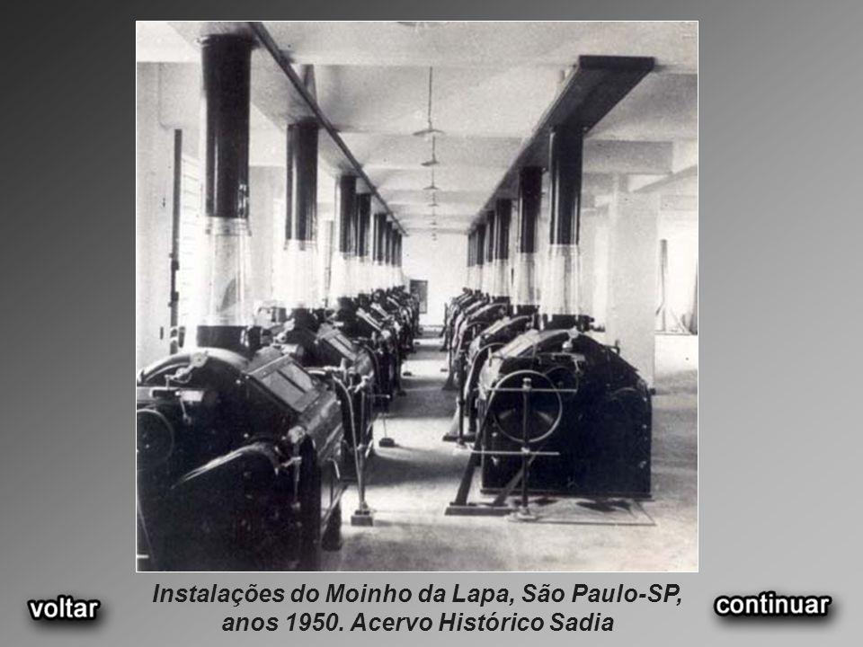 Instalações do Moinho da Lapa, São Paulo-SP, anos 1950