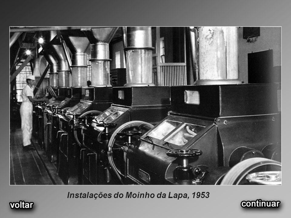 Instalações do Moinho da Lapa, 1953