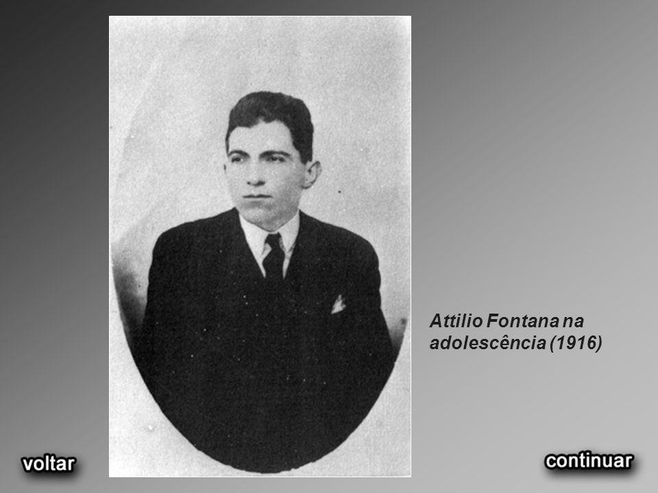 Attilio Fontana na adolescência (1916)
