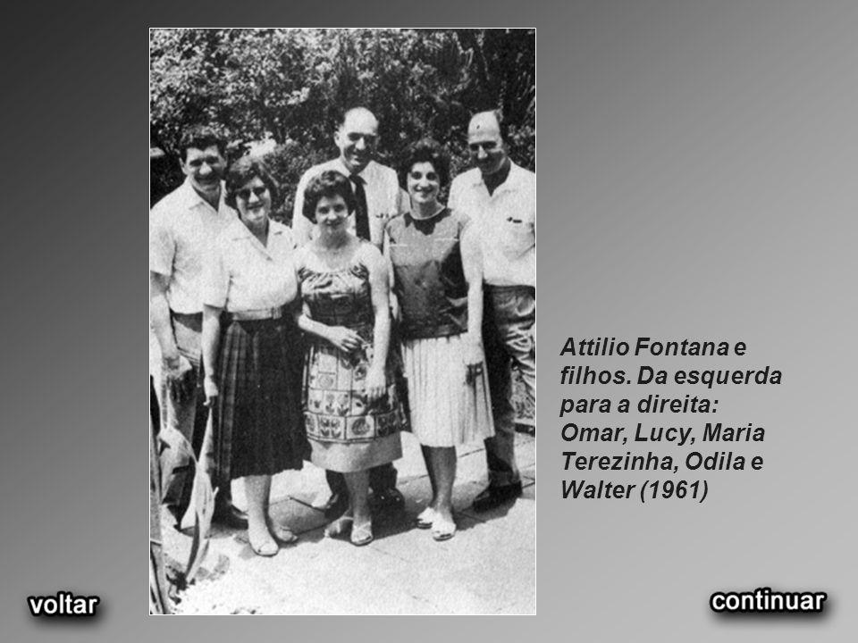 Attilio Fontana e filhos