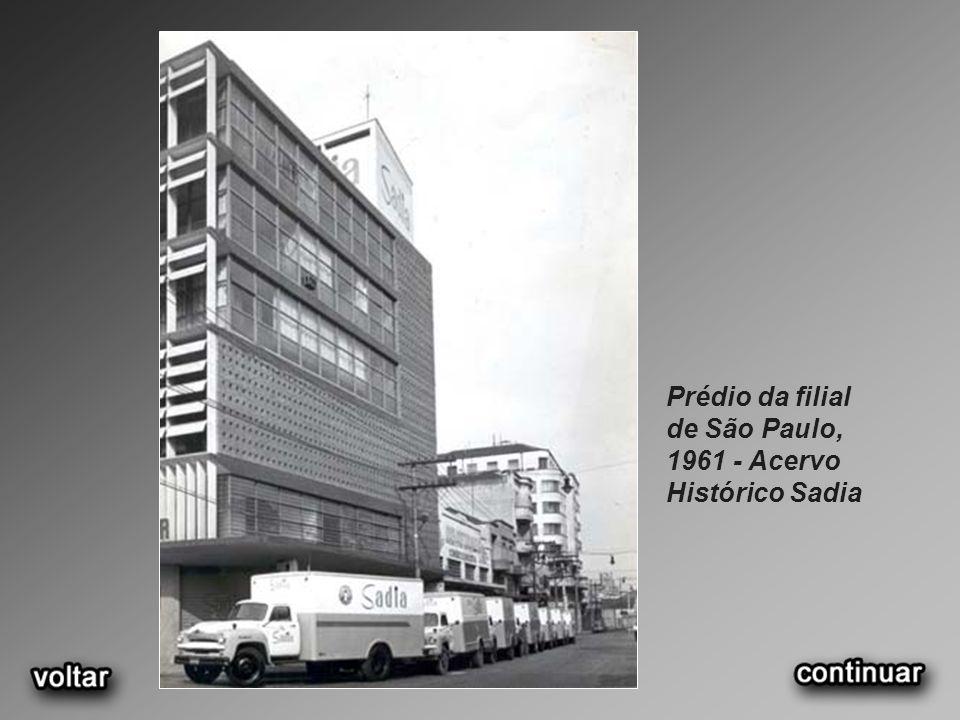 Prédio da filial de São Paulo, 1961 - Acervo Histórico Sadia